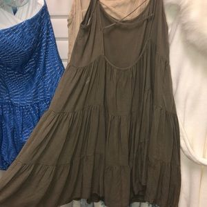 Olive green altrd state dress